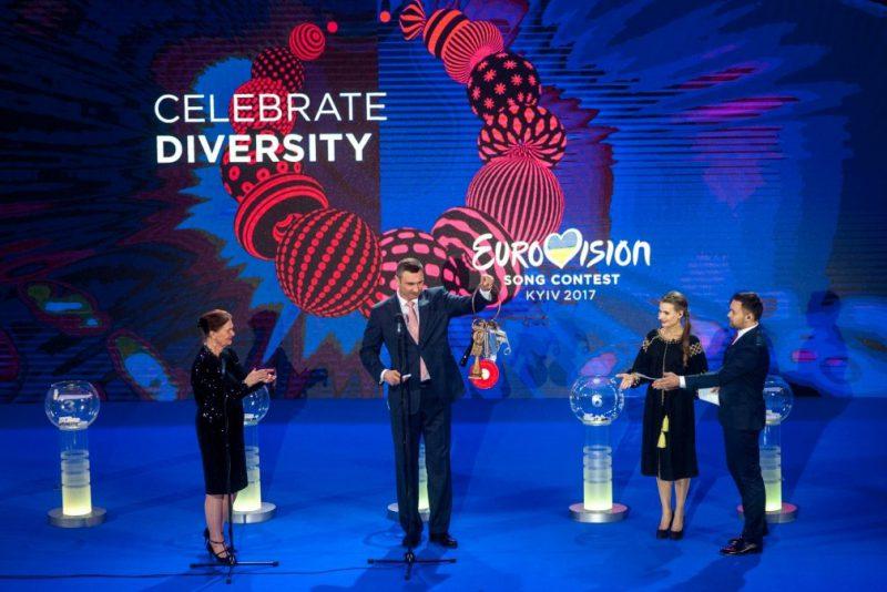 Кличко отримав ключі від Євробачення