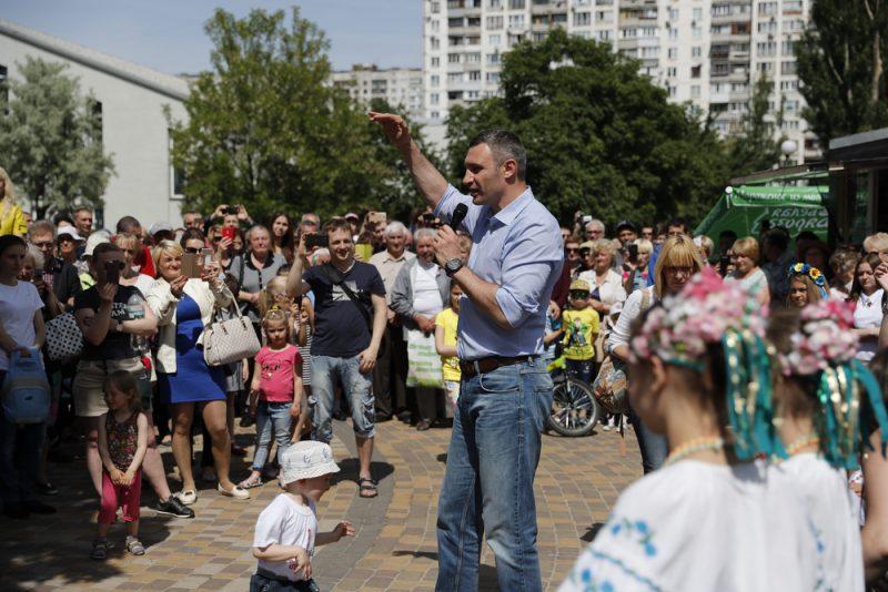Віталій Кличко Тельбін