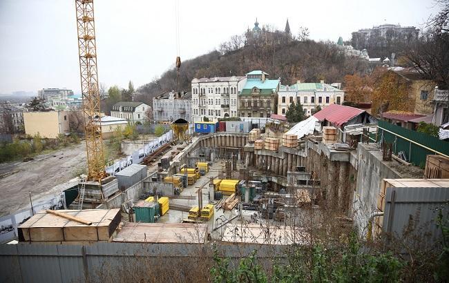 будівництво Андріївський