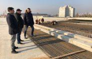 будівництво Подільський міст