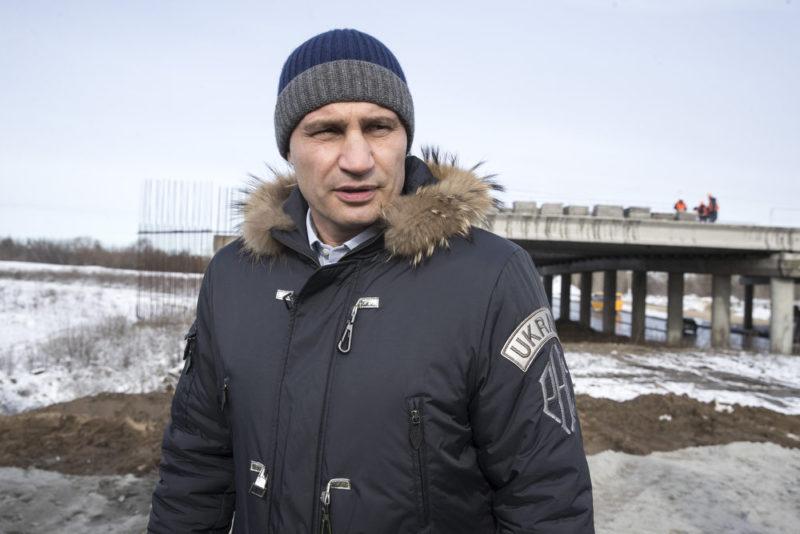 Віталій Кличко взимку