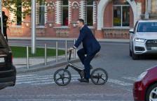 Кличко на велосипеді