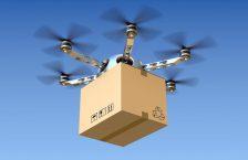 дрон доставляє пошту