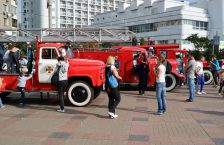 Пожежники у Парку Перемога