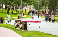 новий парк на Троєщині