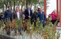 Кличко відкрив першу чергу нового парку на Троєщині