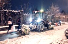 сніг трактор