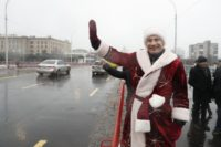 Дід мороз Кличко