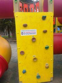 заборонено відвідувати парки, дитячі та спортивні майданчики
